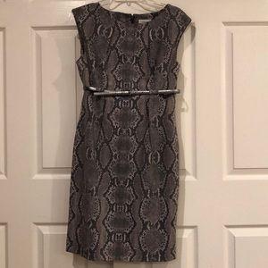 CK Snakeskin Dress